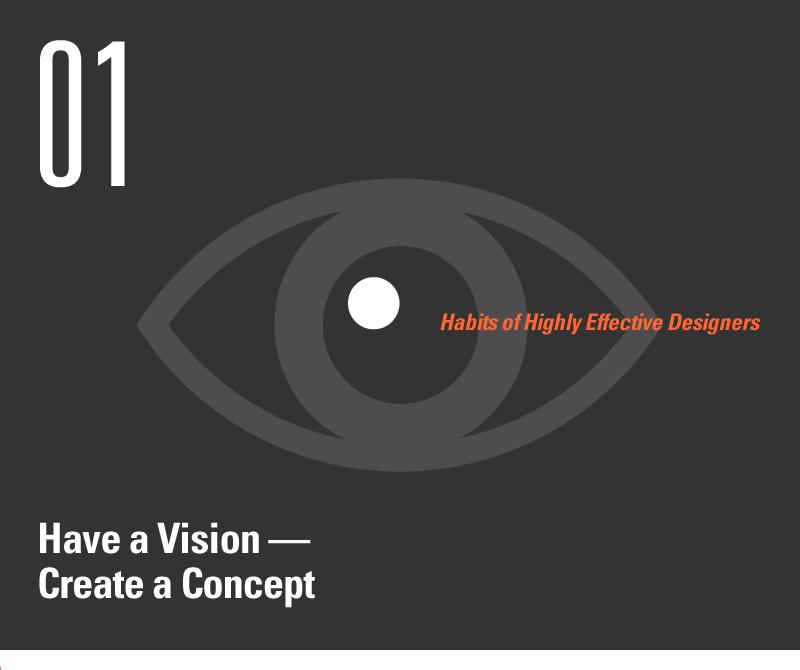 Habit 1 image: Have a Vision, Create a Concept
